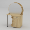 Туалетный столик Компанит Трюмо-3 957х1432х598 мм дуб сонома