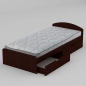Кровать Компанит 90+2 944х650х2042 мм махонь