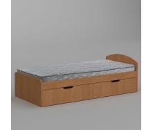 Ліжко Компаніт-90+2 944х650х2042 мм вільха