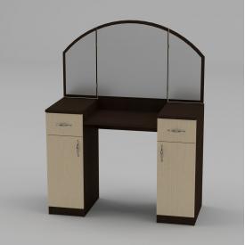 Туалетний столик Компанит Трюмо-4 1010х1300х420 мм венге