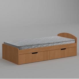 Ліжко Компанит 90+2 944х650х2042 мм вільха