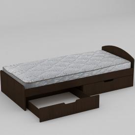 Ліжко Компанит 90+2 944х650х2042 мм венге