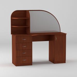Туалетный столик Компанит Трюмо-6 1300х1300х460 мм яблоко