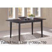 Обідній стіл ONDER MEBLI Umut 120 венге