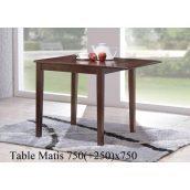 Обеденный стол ONDER MEBLI Matis орех