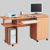Компьютерный стол СОКМЕ СК-140 595х790х1360 мм