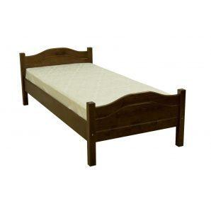Кровать Скиф ЛК-128 200x90 см орех