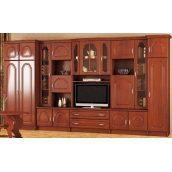 Гостиная Мебель-Сервис Франек 2100х3700х515 мм яблоня