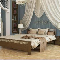 Кровати из натурального дерева с Львовской фабрики Estella
