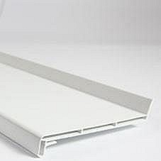 Отлив ПВХ Brilliant 180х6000 мм белый