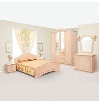 Спальня Мир мебели Камелия яблоня светлая