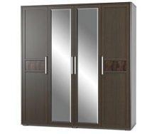 Шкаф Мебель-Сервис Токио 4Д 1995х2135х585 мм венге