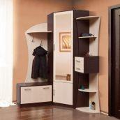 Прихожая Мир мебели Беартис 155x220x111 см темный венге/светлый венге