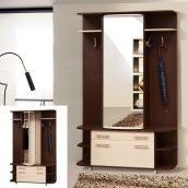 Прихожая Мир мебели Прима 135x211x41 см темный венге/светлый венге