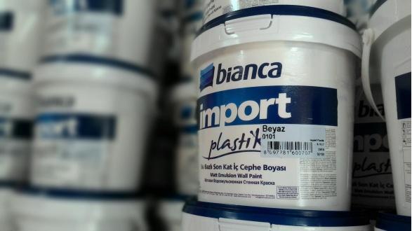 Краска интерьерная Import Plastik Bianca