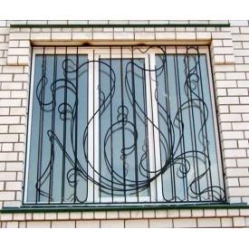 Кованная решетка на окно декоративная