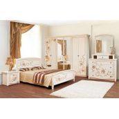 Спальня Світ меблів Ванесса 6Д світле венге лак