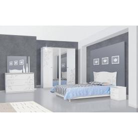 Спальня Мир мебели Фелиция новая белая