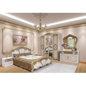 Спальня Мир мебели Кармен новая пино лак