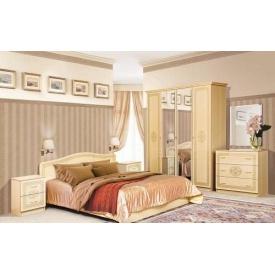 Спальня Світ меблів Флоренція 4Д світле венге лак