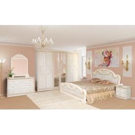Спальня Мир мебели Опера 4Д роза лак