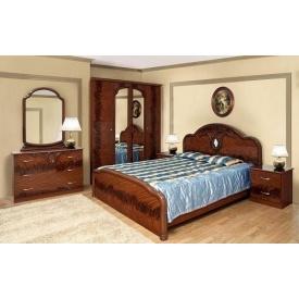 Спальня Світ меблів Лаура 4Д горіх лак