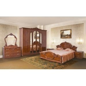 Спальня Мир мебели Империя 4Д кальвадос