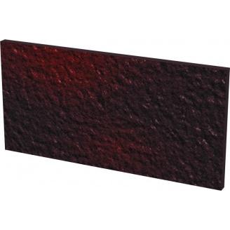 Клинкерная плитка Базoвая под ступени cтруктурная Paradyz cloud brown duro 30x14,8 см