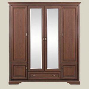 Шкаф для одежды БМФ Росава Ш-1330 1970х2200х580 мм орех артемида