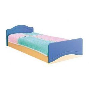 Кровать БМФ Геометрия КТ-539 590х900х2030 мм синяя