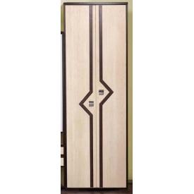 Шкаф Мастер Форм Дельта 600х2000х360 мм венге темный/дуб молочный