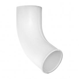 Зливне коліно Акведук Стандарт 87/70 білий RAL 9003
