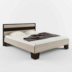 Ліжко СОКМЕ Скарлет 160 905х2050х1750 мм дуб сонома/венге магія