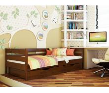Кровать Эстелла Нота каштан 80x190 см щит бука