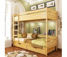 Кровать двухъярусная Эстелла Дуэт 102 90x200 см щит