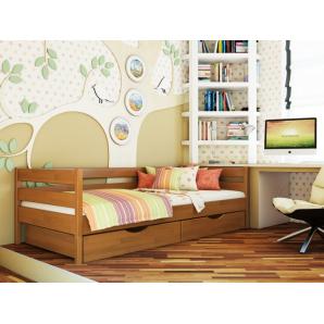 Ліжко Естелла Нота 105 90x200 см масив