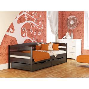 Ліжко Естелла Нота Плюс 106 80x190 см масив