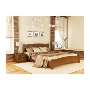 Кровать Эстелла Венеция Люкс 103 2000x1800 мм щит