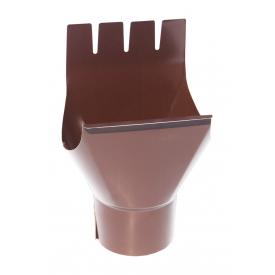 Воронка Акведук Преміум 125/87 коричневий RAL 8017