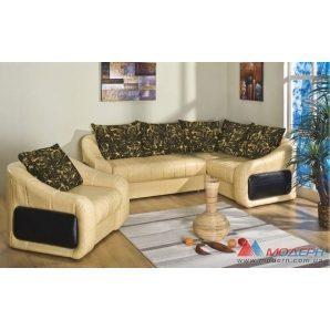 Угловой диван Модерн Люкс 2650х1960х830 мм Рэкс 50+Аледа 1102