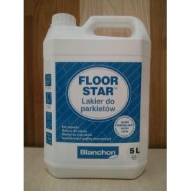Полиуретановый лак для паркета Blanchon Floor Star 5 л