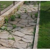 Тротуарний камінь ALEX Group Закарпатський андезит 5 см оливковий