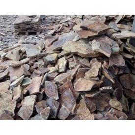 Рваний камінь ALEX Group Закарпатський андезит шоколадно-коричневий
