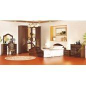 Спальня Мебель-Сервис Глория 6Д орех лак