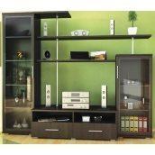 Гостинная Мебель-Сервис Нео-1 1820х2200х588 мм венге темный