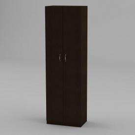 Книжный шкаф Компанит КШ-7 1950x600x366 мм венге