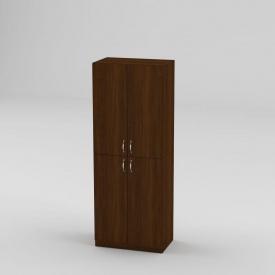 Книжный шкаф Компанит КШ-12 1587x600x366 мм орех экко