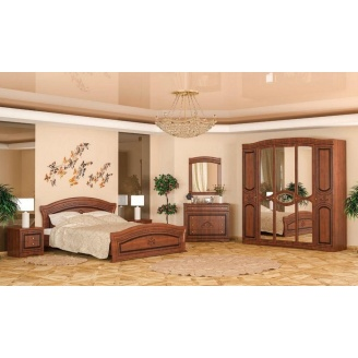 Спальня Мебель-Сервис Милано 4Д вишня