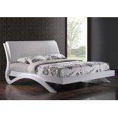 Кровать Domini Эвита 1810х2230х800 мм белый глянец