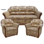 Комплект м'яких меблів Віка Бостон 311 з не розкладними кріслами